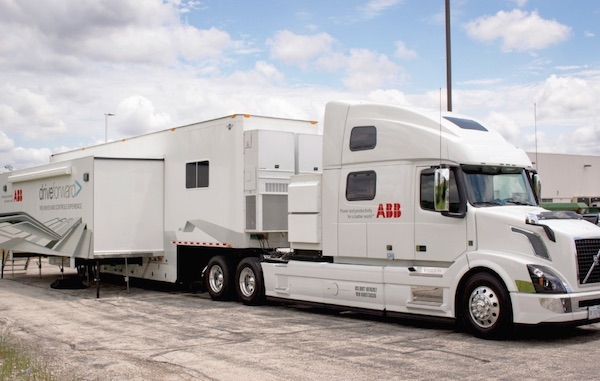 The Drives & Controls Experience – ABB Roadshow Truck Tour