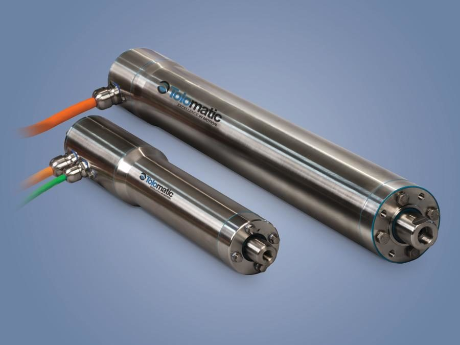 New Hygienic Integrated Electric Actuators Provide Modular Clean-In-Place Solutions